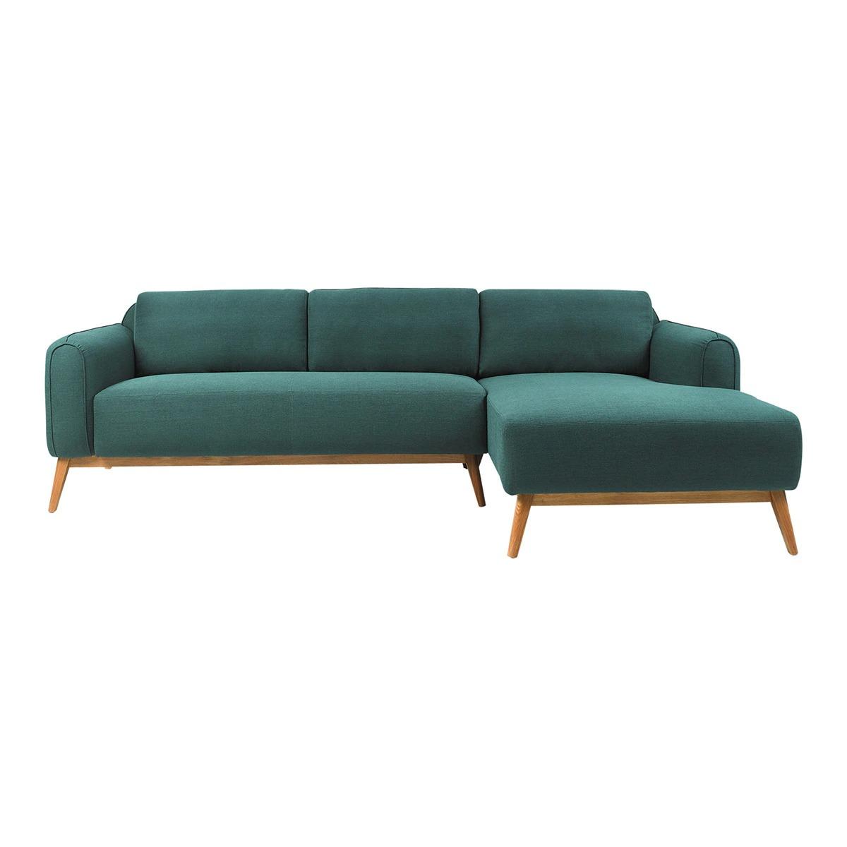 Sofá con chaise longue derecha Green Room