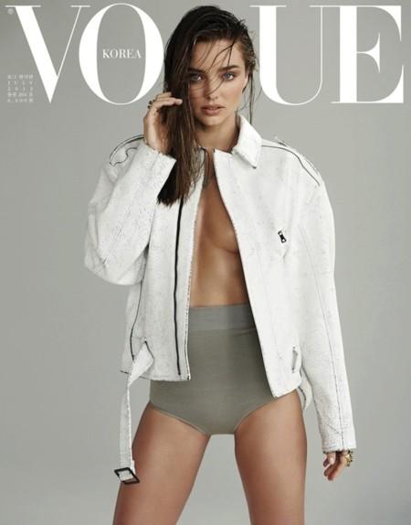Korea se pelea por Miranda Kerr: ¿Vogue o Elle?