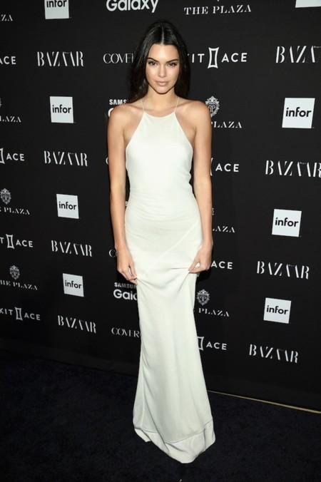 Vestido blanco de Calvin Klein