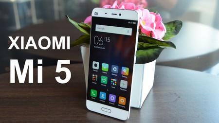 Más barato todavía: Xiaomi Mi5, con Snapdragon 820 y 64GB de capacidad, por 195 euros y envío gratis