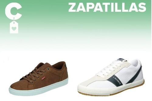 Chollos en tallas sueltas de  zapatillas Tommy Hilfiger, Lacoste o Levi's en Amazon