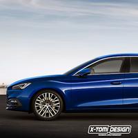 Este hipotético SEAT Toledo se basa en un SEAT León berlina que quizá nunca veamos hecho realidad