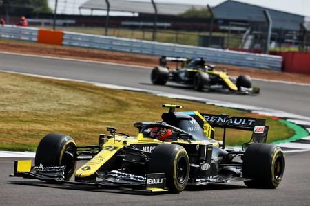 Ocon Silverstone F1 2020