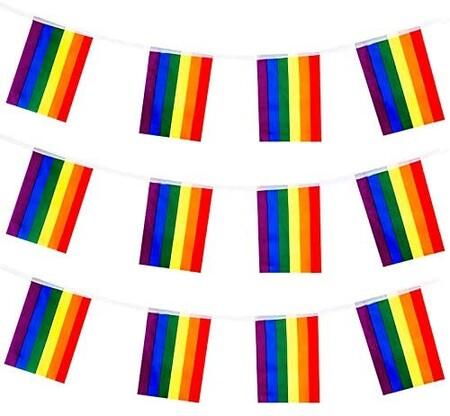 Guirnalda de banderas gays