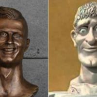 No puede no gustarte el nuevo busto que le han dedicado a Cristiano Ronaldo