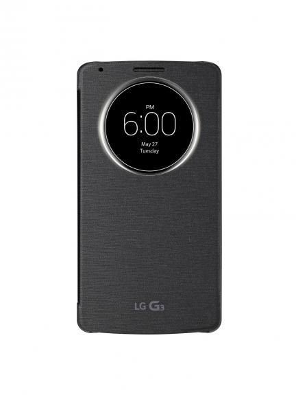 Quickcircle Case: LG no teme adelantar detalles de su LG G3