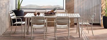 Nos vamos de rebajas; conjuntos de comedor y muebles para comer en la terraza o balcón (al mejor precio)