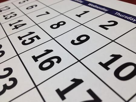 Calendario de días inhábiles 2021 de la Administración General del Estado