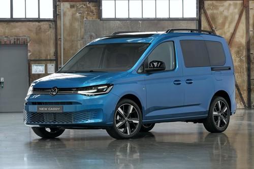 La Volkswagen Caddy 2021 estrena generación con plataforma y tecnología del nuevo Golf