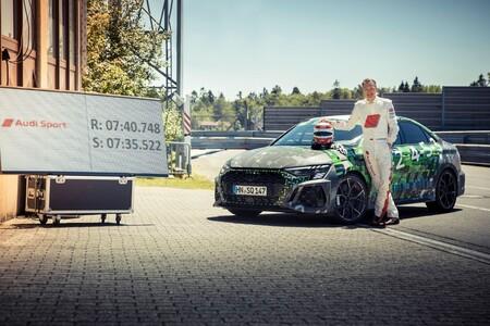 Audi Rs3 Record Nurburgring 3