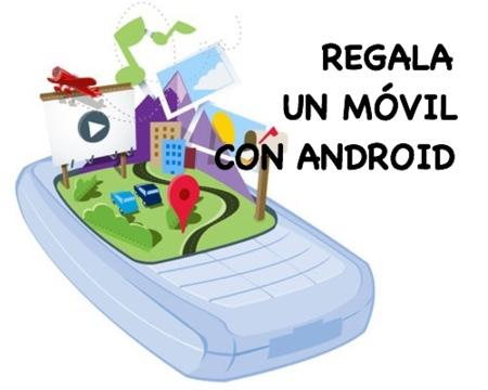 Ideas para regalar en Navidad: móviles con Android