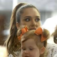 Día en familia: ¿Jessica Alba o Rachel Zoe?