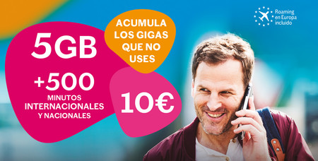 Lebara estrena los gigas acumulables y añade 12 nuevos países gratis a sus bonos internacionales