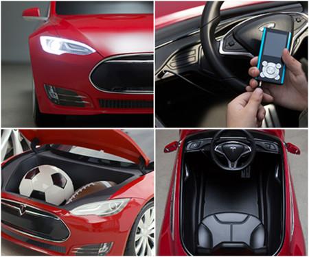 Tesla Model S Radio Flyer