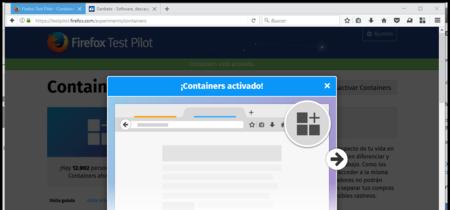 Prueba el nuevo experimento de Firefox Test Pilot para abrir páginas en contenedores separados