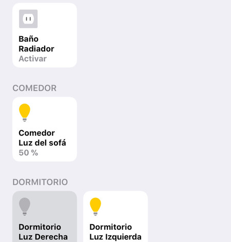 Homekit Dispositivos