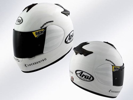 Arai Zebra reflectante