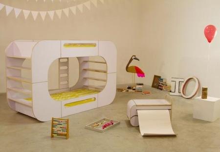 Colección de mobiliario infantil de IO Kids Design