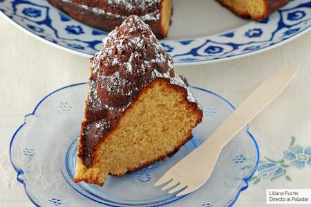 Bizcocho bundt cake de turrón de Jijona: receta de aprovechamiento navideño