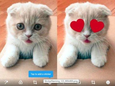 Twitter también quiere usar stickers, pero encima de las imágenes que publiques