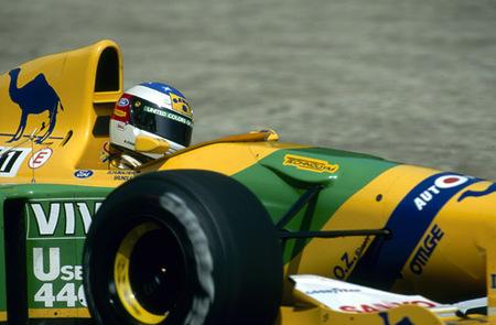 Benneton de Schumacher