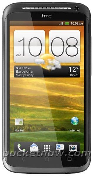 HTC One X se muestra en su primera imagen oficial