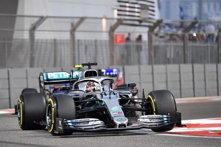 Hamilton Abu Dabi F1 2019