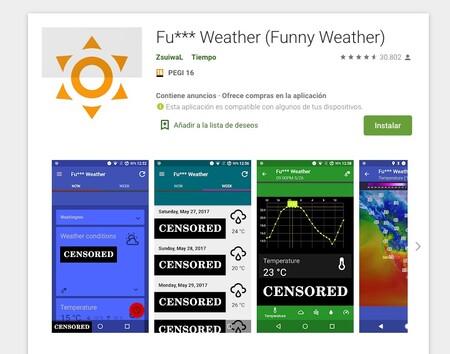 Fu Weather Funny Weather Aplicaciones En Google Play