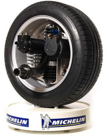 Michelin Active Wheel: motores eléctricos en cada rueda