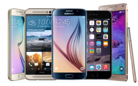 ¿Cuál es el mejor smartphone de 2015? Los gama alta de referencia en la actualidad frente a frente