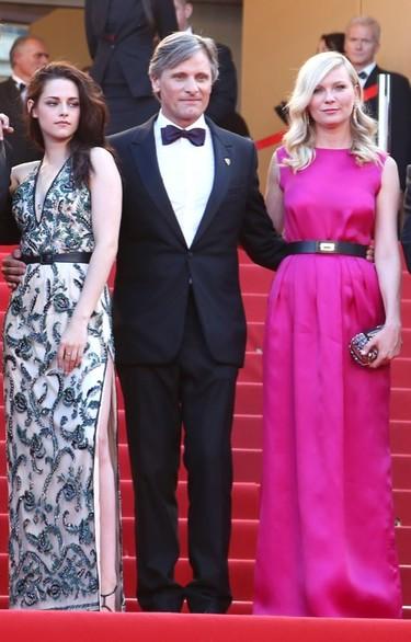 Kristen Stewart y Kirsten Dunst sobre la alfombra roja del Festival de Cannes