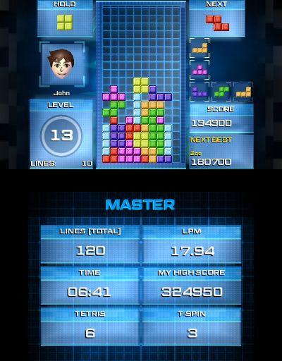 Imágenes Tetris Ultimate (3DS)
