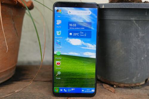 Cómo convertir tu móvil Android en Windows XP con un launcher, tema y fondo de pantalla