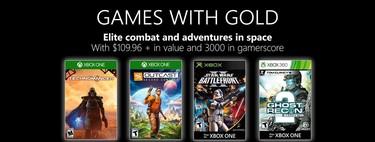 Juegos de Xbox Gold gratis para Xbox One y 360 de abril 2019