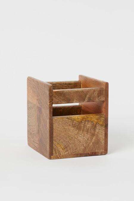 Caja de madera de almacenaje