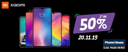 Adelanto al Black Friday en Phone House: la 2ª unidad de Xiaomi con el 50% de descuento