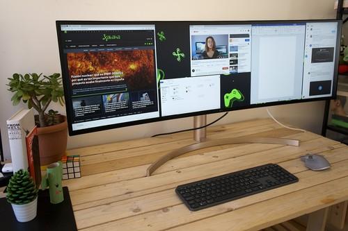 LG 49WL95C-W, análisis: un monitor ultrapanorámico tan grande como listo para disfrutar trabajando