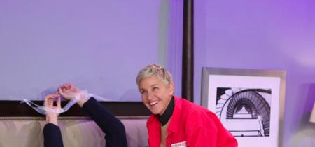 La versión de 'Cincuenta sombras más oscuras' de Ellen es muy grande