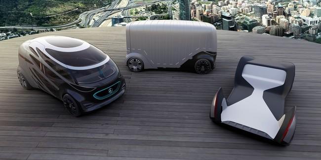 Mercedes Vision Urbanetic entregará tu pedido de Amazon o te llevará a la oficina en el futuro