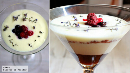 Deliciosa copa de queso y yogur, la receta de un postre ideal para celebraciones