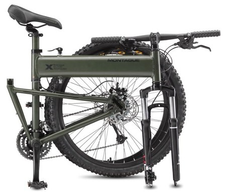 Montague-Paratrooper-Tactical-Folding Mountain-Bike