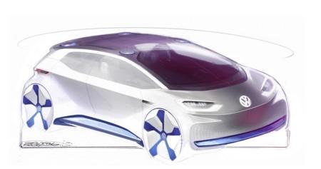 Estas son las pistas de diseño de la sorpresa eléctrica de Volkswagen para el Salón de París