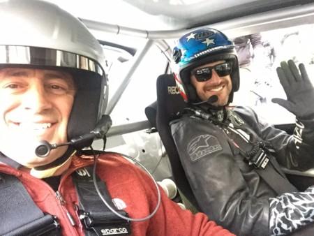 Ken Block, Matt LeBlanc y una grabación de Top Gear en Londres que tal vez se les fue de las manos