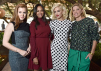De Amy Adams a Zoe Saldana, las celebrities de Hollywood se visten de primavera