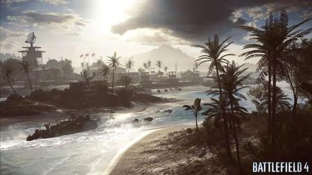 Bonita panorámica de Paracel Storms en 'Battlefield 4' [GC 2013]