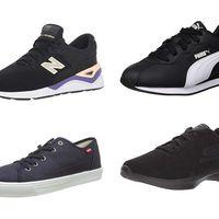 ¿Buscas zapatillas oscuras? recopilamos cinco chollos en tallas sueltas de  Levi's, Etnies, New Balance, Puma y Skechers de Amazon
