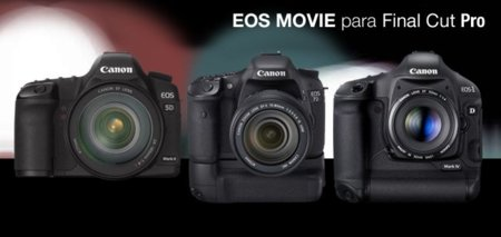 Canon actualiza su software EOS MOVIE para Final Cut Pro