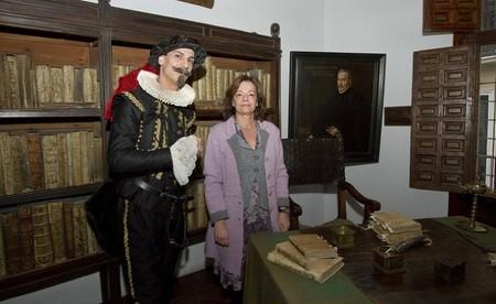Celebra la noche de los libros el 23 de abril del 2013 en la Casa Museo Lope de Vega de Madrid