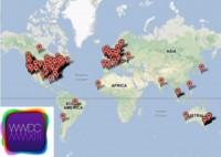 ¿De dónde vienen los desarrolladores que acudirán al WWDC?