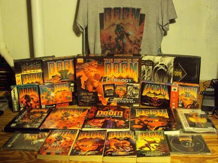 merchandising del videojuego Doom